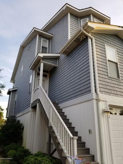 Carolina Beach Condo/Townhouse For Sale: 317 Atlanta Avenue #Unit #1