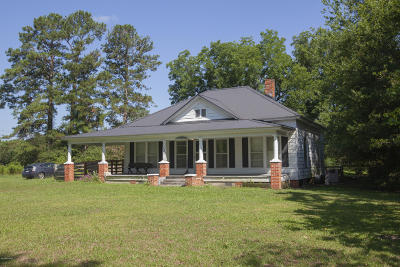 Richlands Single Family Home For Sale: 2880 Catherine Lake Road