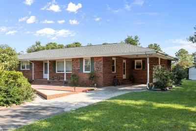 Sneads Ferry Single Family Home For Sale: 182 Hill Lane