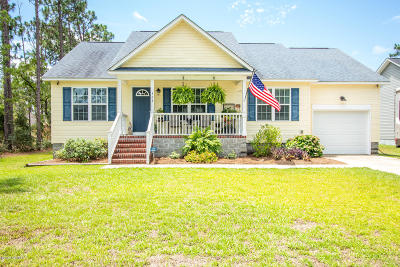 Boiling Spring Lakes Single Family Home For Sale: 323 Cedar Road