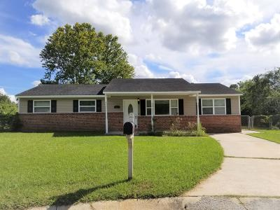 Jacksonville Single Family Home For Sale: 203 Dale Drive