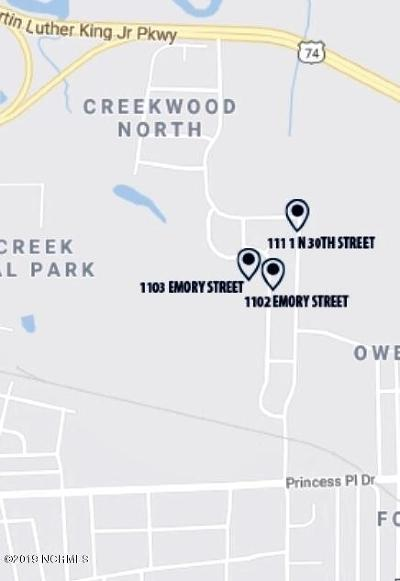 New Hanover County Commercial For Sale: 1102 Emory Street