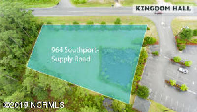 Brunswick County Commercial For Sale: 964 Southport Supply Rd SE