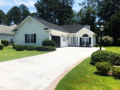 Calabash Single Family Home For Sale: 8875 Balfour Drive