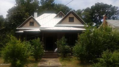 Nash County Single Family Home For Sale: 536 Avent Street