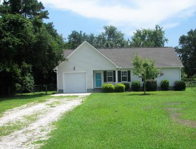 Carteret County Single Family Home For Sale: 140 Joans Haven Drive
