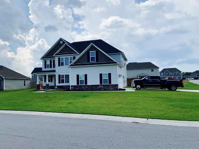 Sneads Ferry Single Family Home For Sale: 112 Regatta Way