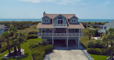 Holden Beach Island, Holden Beach Mainland Single Family Home For Sale: 1265 Ocean Boulevard W