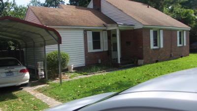 Jacksonville Single Family Home For Sale: 11 Glendale Road