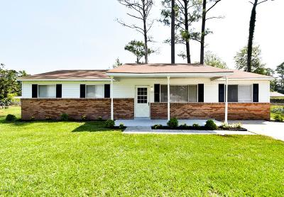 Jacksonville Single Family Home For Sale: 503 Dale Court