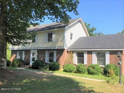 Rocky Mount Single Family Home For Sale: 2840 Jason Drive