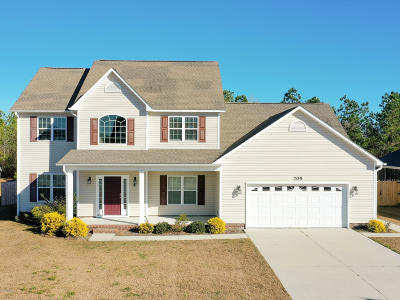 Swansboro Single Family Home For Sale: 705 Shearwater Lane
