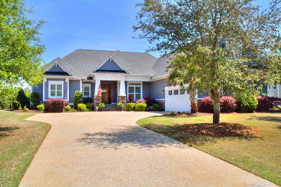 Southport NC Single Family Home For Sale: $699,000