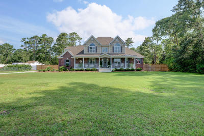 Hampstead Single Family Home For Sale: 205 Center Drive