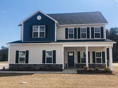 Sneads Ferry Single Family Home For Sale: 152 Oyster Landing Drive