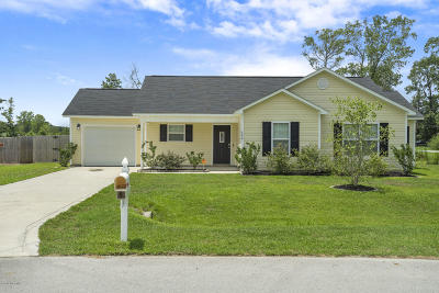 Single Family Home For Sale: 600 Denim Drive