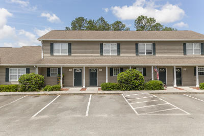 Swansboro Condo/Townhouse For Sale: 601 Peletier Loop Road #J59