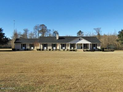 Kinston Single Family Home For Sale: 1482 Neuse Road