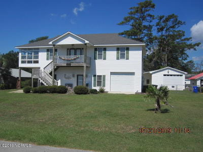 Cape Carteret NC Single Family Home For Sale: $399,000