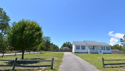 Boiling Spring Lakes Single Family Home For Sale: 1901 Reidsville Road
