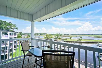 Oak Island Beach Condo/Townhouse For Sale: 5400 E Yacht Drive #D6