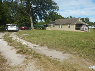 Supply Single Family Home For Sale: 2184 Holden Beach Road SW