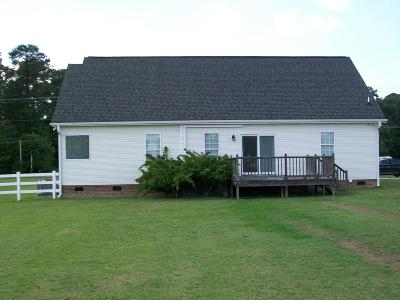 Rocky Mount Single Family Home For Sale: 9971 Nc Highway 97