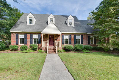 New Bern Single Family Home For Sale: 1602 Tryon Road