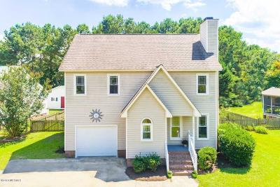 Winterville Single Family Home For Sale: 639 Huff Drive