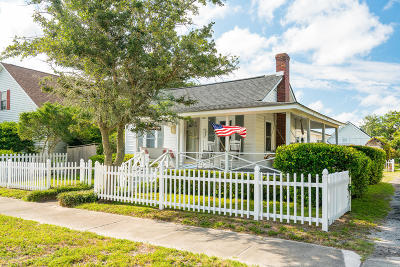 Morehead City Single Family Home For Sale: 1903 Evans Street