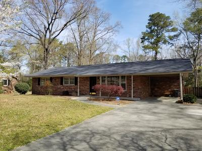 Trent Woods Single Family Home For Sale: 3402 Windsor Drive
