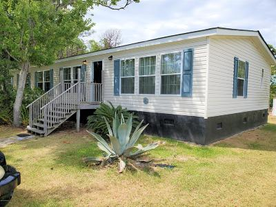 Harkers Island Single Family Home For Sale: 295 Diamond City Drive