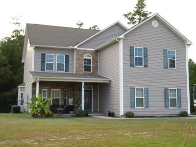 Richlands Single Family Home For Sale: 109 Sunny Point Drive