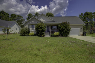 Holly Ridge Single Family Home For Sale: 113 Sages Ridge Drive