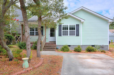Oak Island Single Family Home For Sale: 145 NW 10th Street