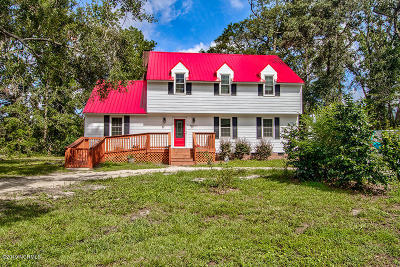 Brunswick County Single Family Home For Sale: 10263 Cornwallis Circle SE