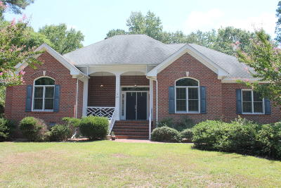 Rocky Mount Single Family Home For Sale: 121 Southall Court