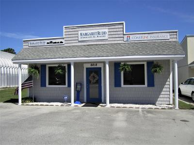 Brunswick County Commercial For Sale: 6818 Beach Drive SW