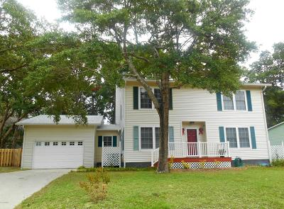 Oak Island Single Family Home For Sale: 102 Paula Circle SE