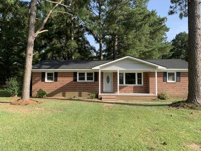 Rocky Mount Single Family Home For Sale: 1701 Leggett Road
