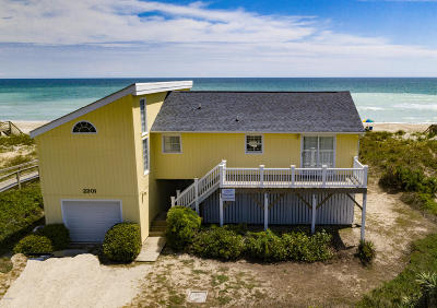 Emerald Isle Single Family Home For Sale: 2201 Ocean Drive