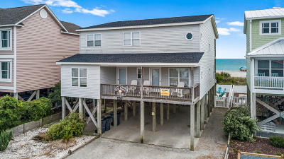 Brunswick County Single Family Home For Sale: 557 Ocean Boulevard W
