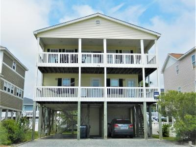 Ocean Isle Beach Single Family Home For Sale: 205 E First Street
