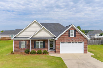 Winterville Single Family Home For Sale: 2922 Fox Glove Drive