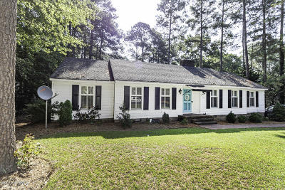 Rocky Mount Single Family Home For Sale: 3829 Gloucester Road