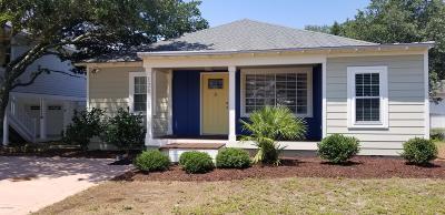 Kure Beach Single Family Home For Sale: 126 S 6th Avenue