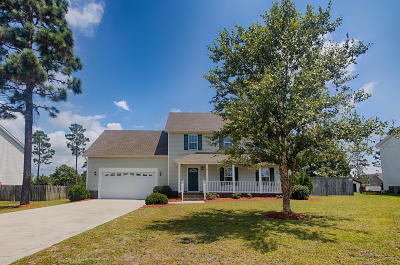 Cape Carteret Single Family Home For Sale: 110 Tifton Circle
