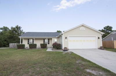 Richlands Single Family Home For Sale: 234 Redberry Drive