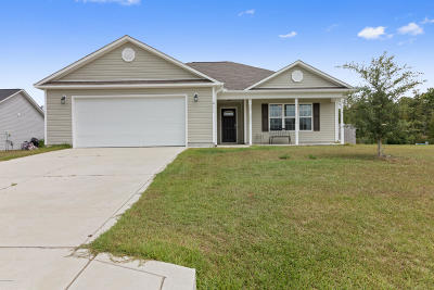 Richlands Single Family Home For Sale: 411 Midnight Drive