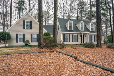 Rocky Mount Single Family Home For Sale: 712 Short Spoon Circle